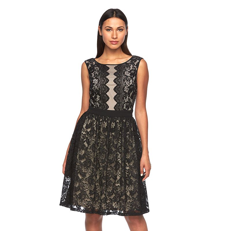 Petite Suite 7 Floral Lace Dress