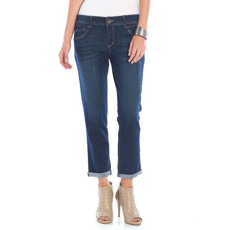Women's Artisan Crafted by Democracy Curvy Fit Boyfriend Jeans