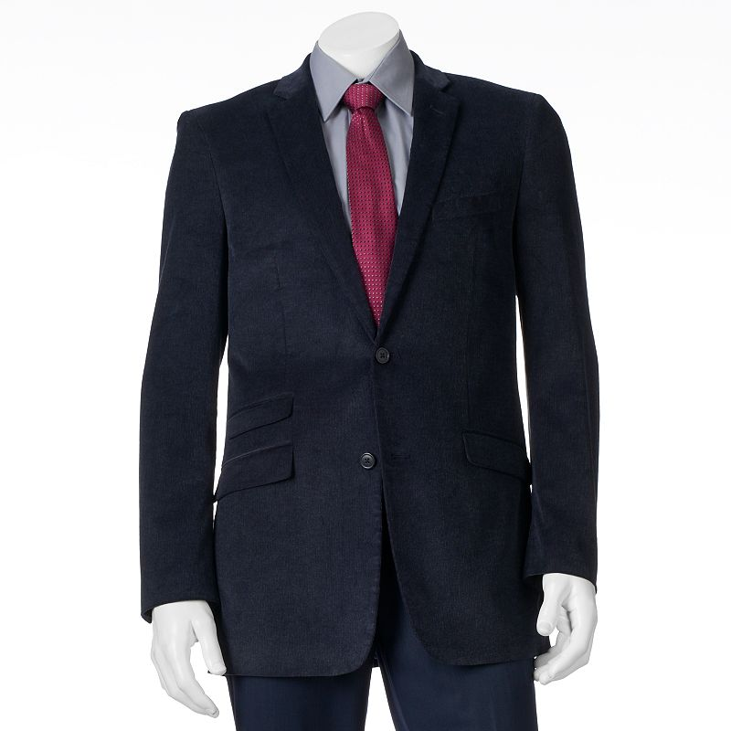 Men's Adolfo Slim-Fit Frosted Corduroy Sport Coat