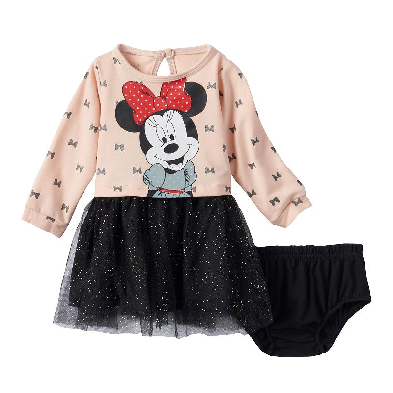 Disney's Minnie Mouse Tulle Dress - Baby Girl