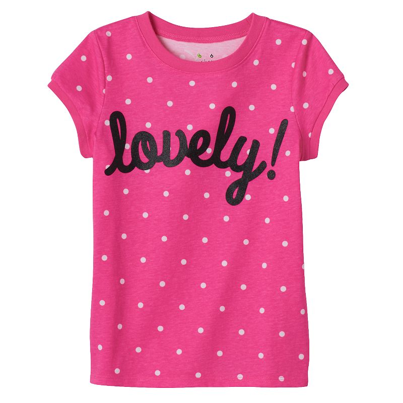 Girls 4-6x Jumping Beans® Printed Graphic Tee