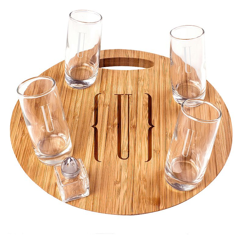 Cathy's Concepts 6-pc. Monogram Tequila Shooter Set