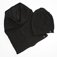 Chaos Knit Neckwarmer & Beanie Hat Set