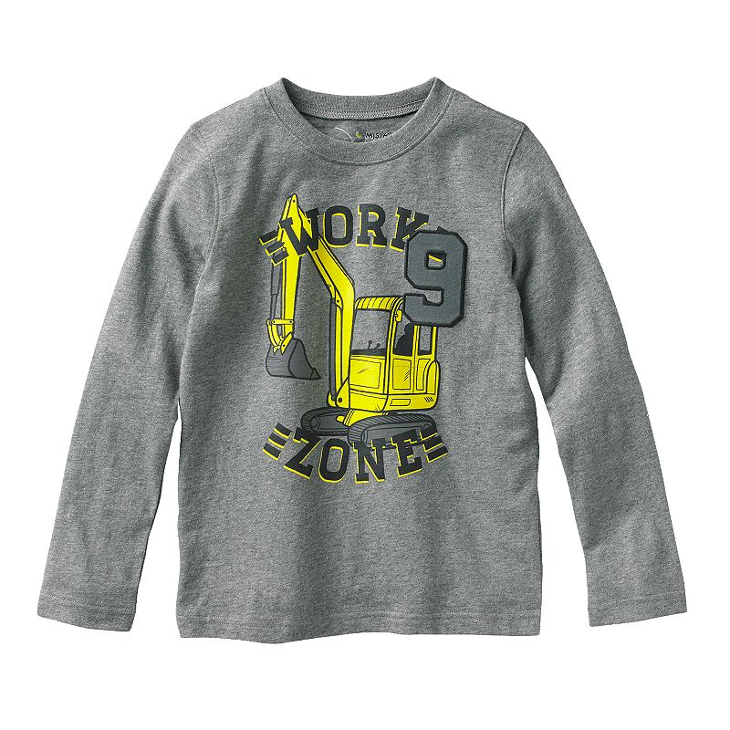 Boys 4-7x Jumping Beans® Long-Sleeved Graphic Tee