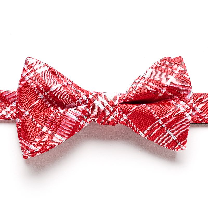 Bow Tie Tuesday Plaid Pretied Bow Tie - Men