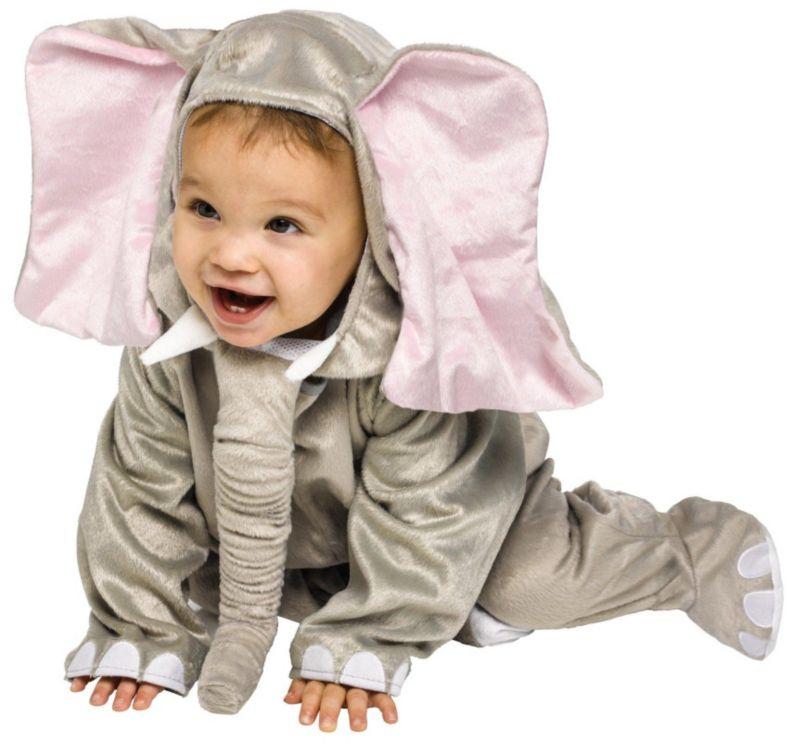 Elephant Costume - Baby (Blue)