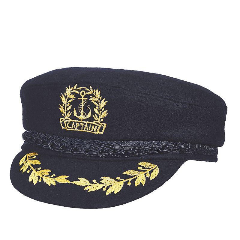 Aegean Wool-Blend Admiral Hat - Men