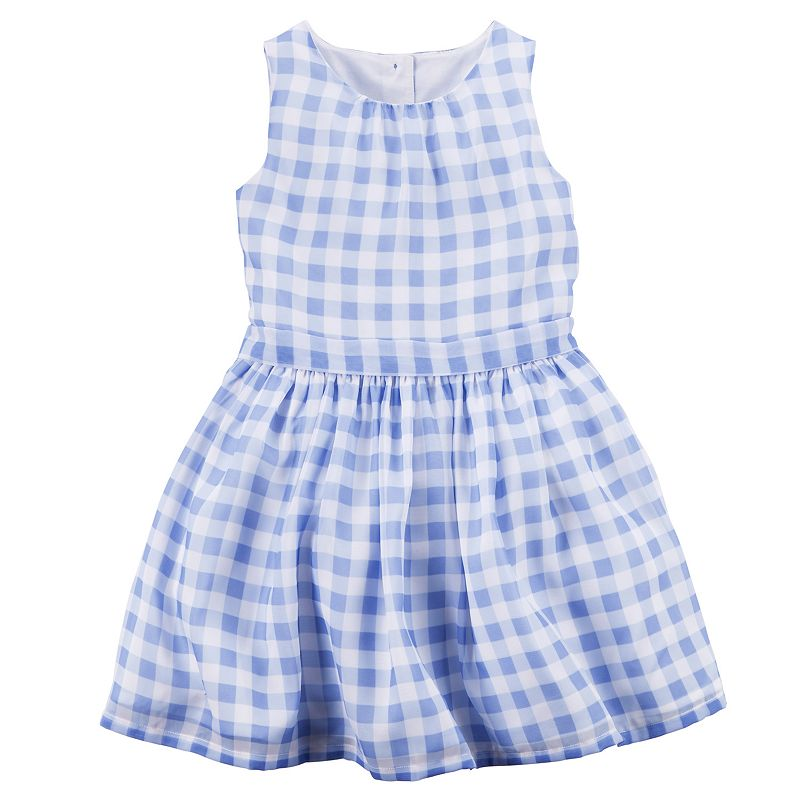 Girls 4-8 Carter's Gingham Plaid Dress