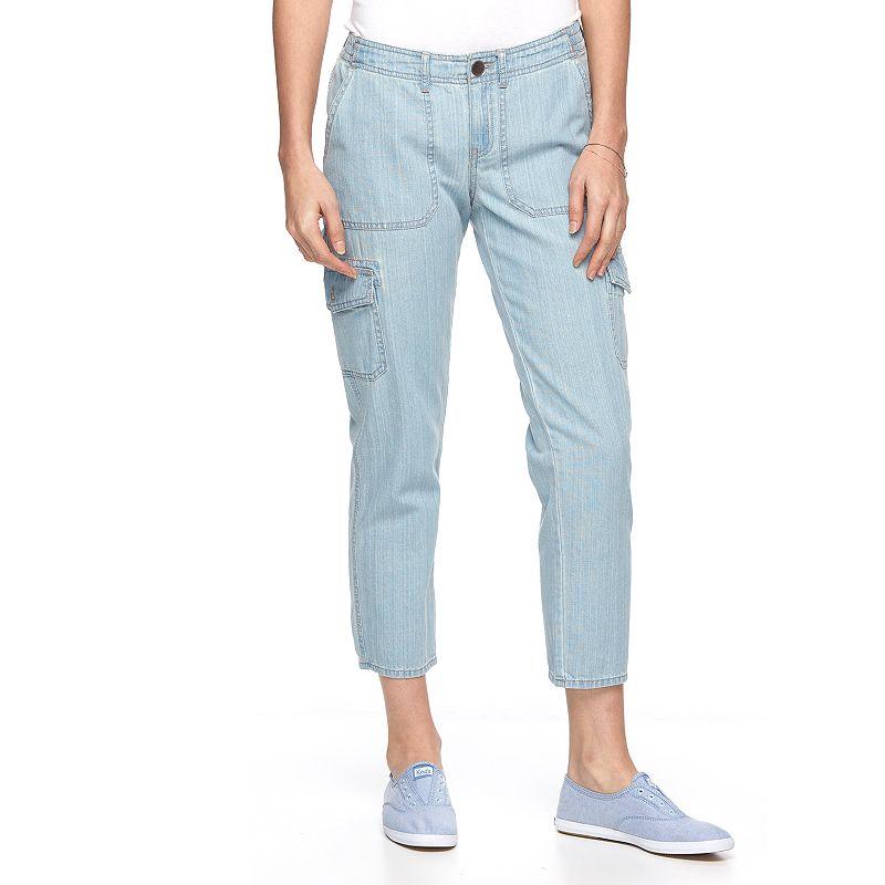 Women's SONOMA Goods for Life™ Cargo Capri Jeans