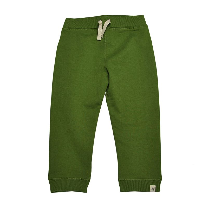 Baby Boy Burt's Bees Baby Organic Solid French Terry Pants