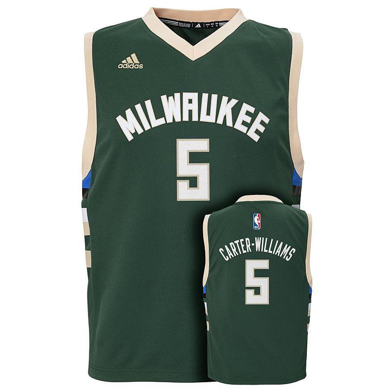 Boys 8-20 adidas Milwaukee Bucks Michael Carter-Williams Jersey