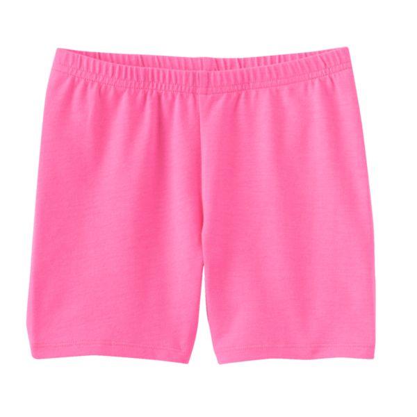 Girls 4-7 Jumping Beans® Solid Biker Shorts