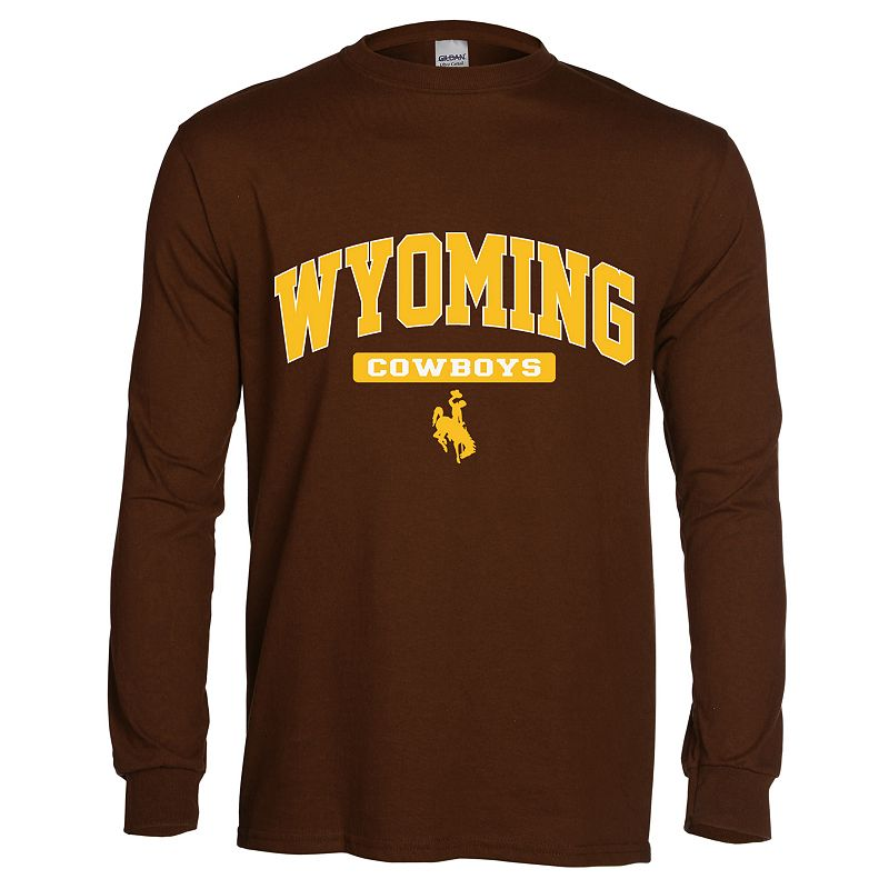 Men's Wyoming Cowboys Next Generation Arch Long-Sleeve Tee