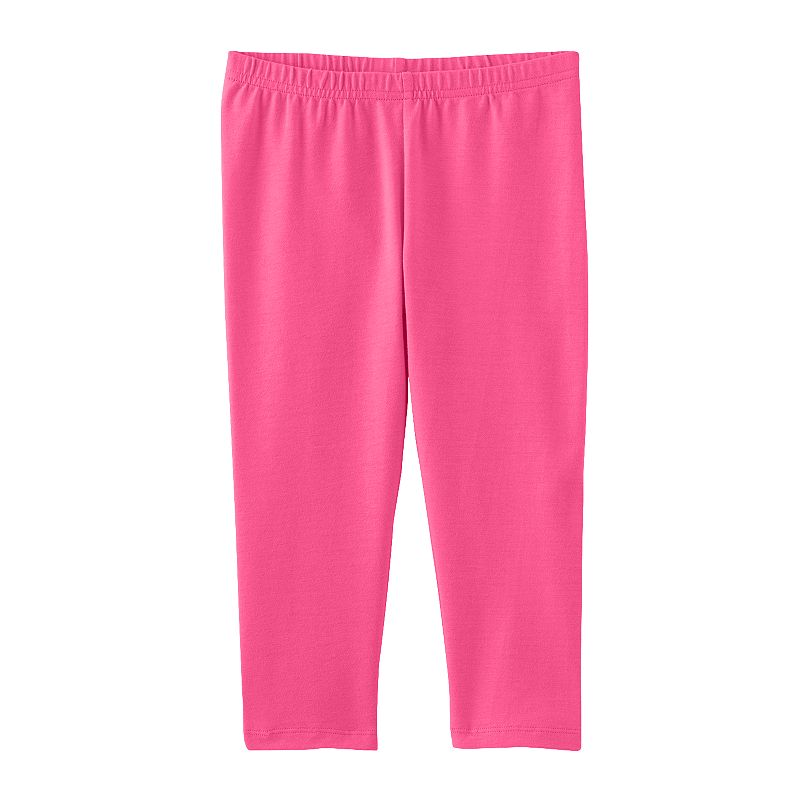 Girls 4-7 Jumping Beans® Solid Capri Leggings