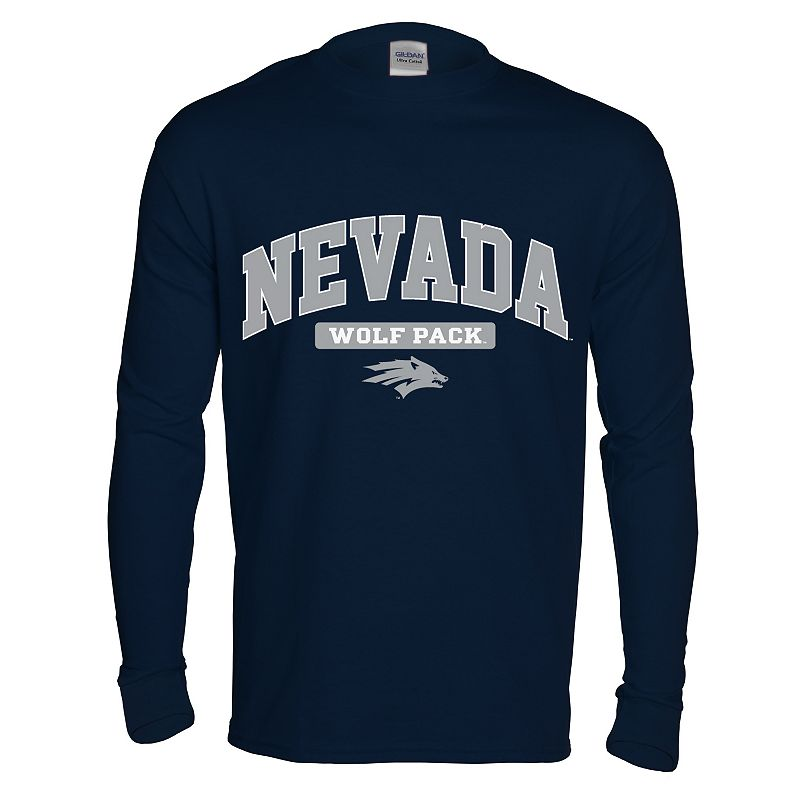 Men's Nevada Wolf Pack Next Generation Arch Long-Sleeve Tee