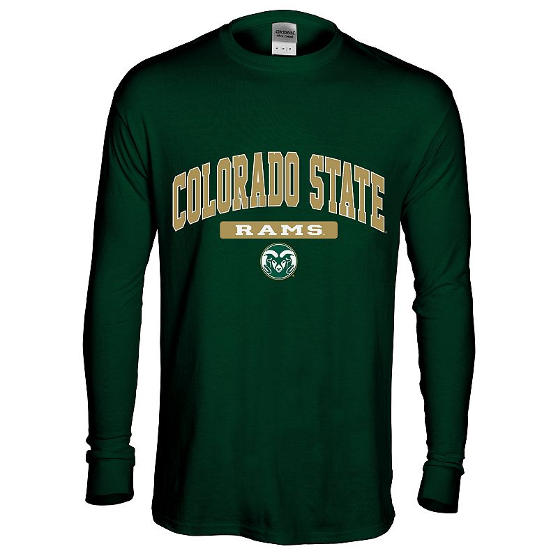 Men's Colorado State Rams Next Generation Arch Long-Sleeve Tee
