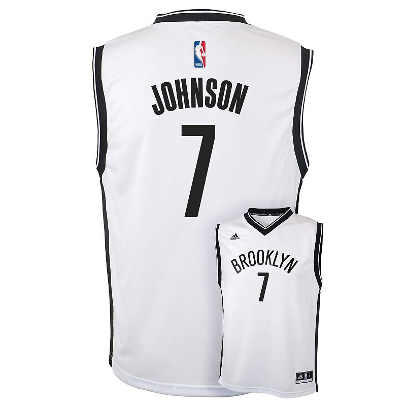 Boys 8-20 adidas Brooklyn Nets Joe Johnson NBA Jersey