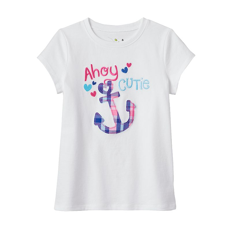Girls 4-7 Jumping Beans® Applique Tee