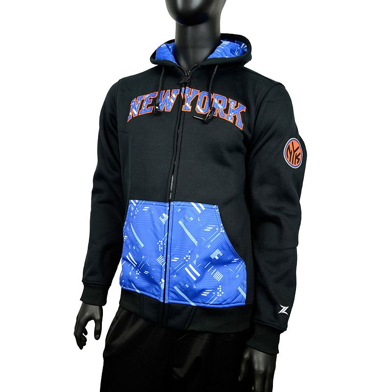 Men's Zipway New York Knicks Signature Basics Hoodie