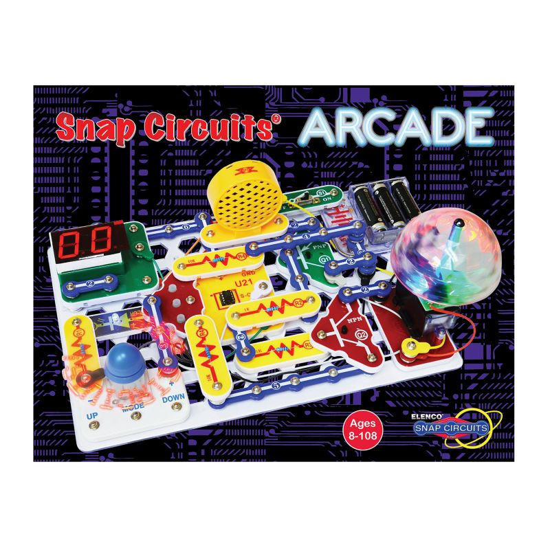 Elenco Snap Circuits Arcade, Multicolor