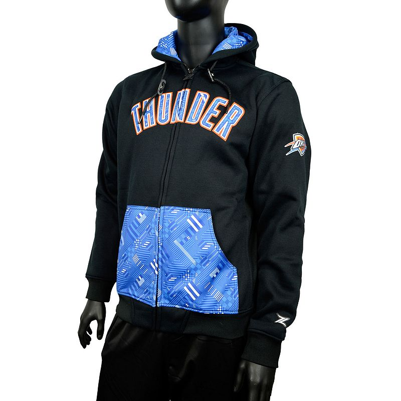 Men's Zipway Oklahoma City Thunder Signature Basics Hoodie