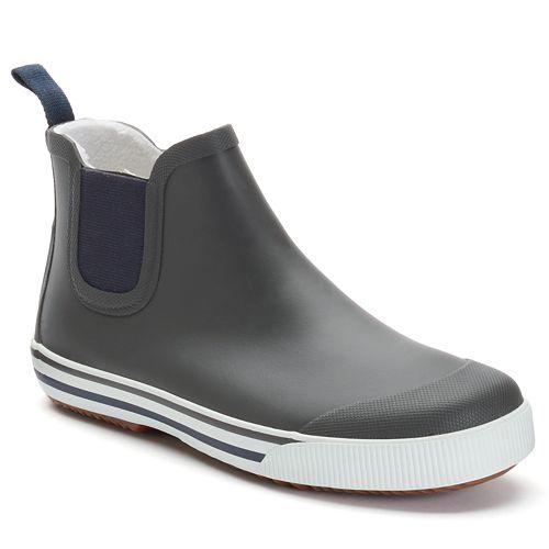 Tretorn Strala Mens Rain Boots on Color Learn Rain