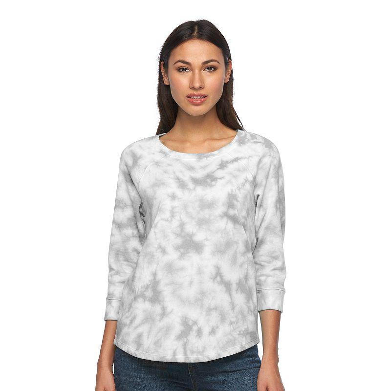 Women's SONOMA Goods for Life™ Tie-Dye Crewneck Sweatshirt