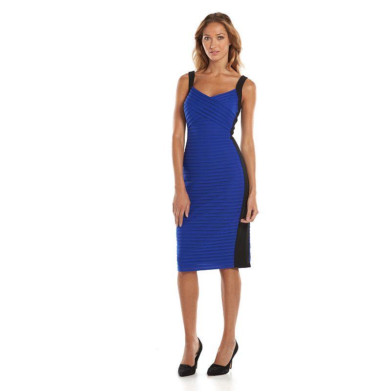 Suite 7 Colorblock Sheath Dress - Women's