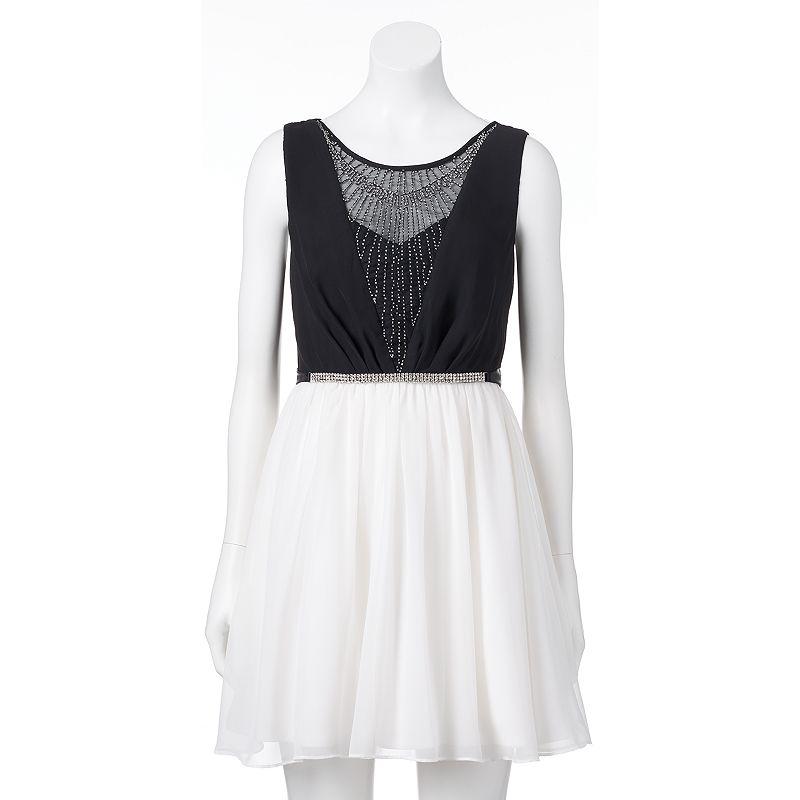 Juniors' Lily Rose Beaded Dress