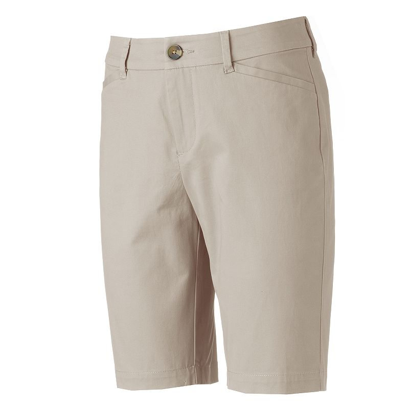 Women's Croft & Barrow® Classic Fit Bermuda Shorts