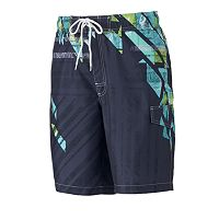 Men's SONOMA Goods for Life™ Shattered Microfiber Swim Trunks
