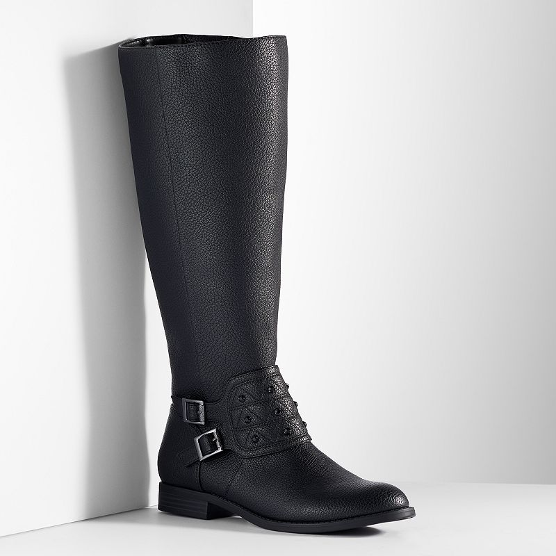 Simply Vera Vera Wang Women's Riding Boots