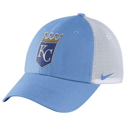 Adult Nike Kansas City Royals Heritage86 Dri-FIT Adjustable Cap