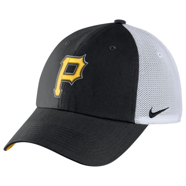 Adult Nike Pittsburgh Pirates Heritage86 Dri-FIT Adjustable Cap