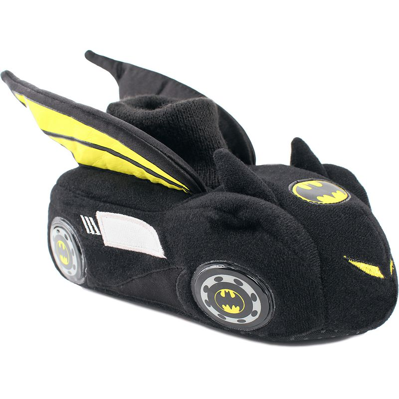 Batman Boys' Batmobile Sock Slippers