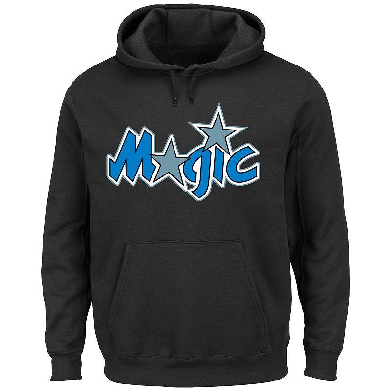 Men's Majestic Orlando Magic Hardwood Classics Tek Patch Hoodie