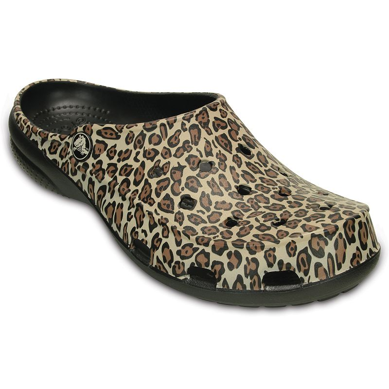 Crocs Freesail Women's Leopard Clogs