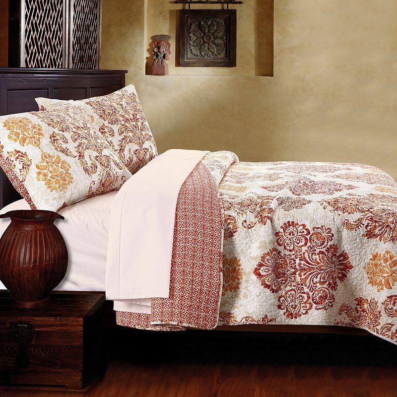 Tuscany Reversible Quilt Set