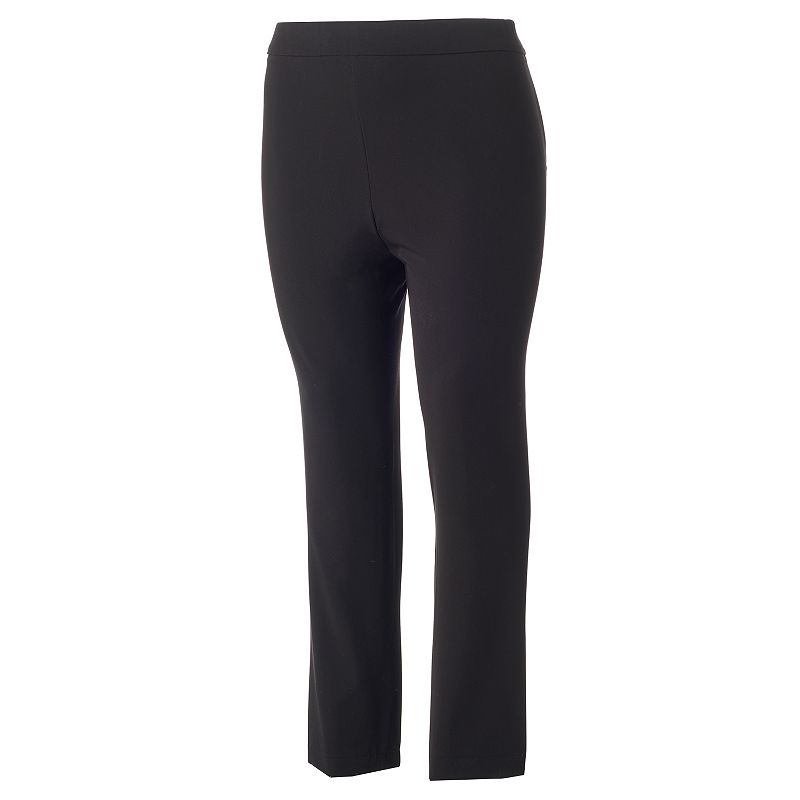 Plus Size Dana Buchman Olivia Twill Pants