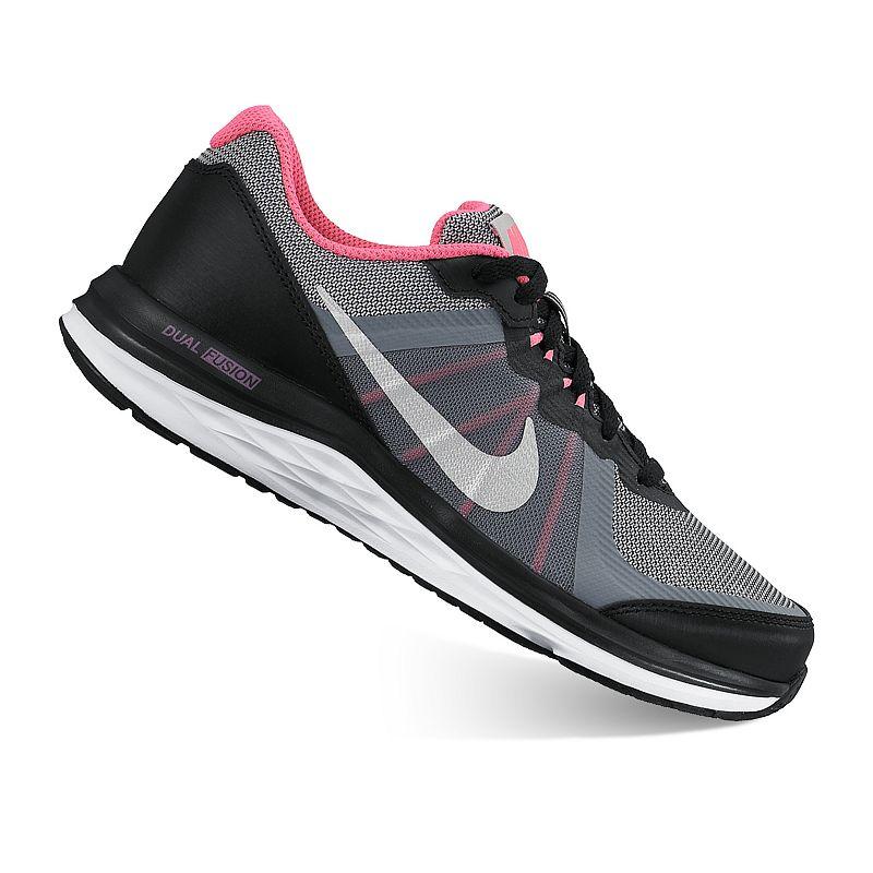 Nike Dual Fusion X2 Grade School Girls' Running Shoes