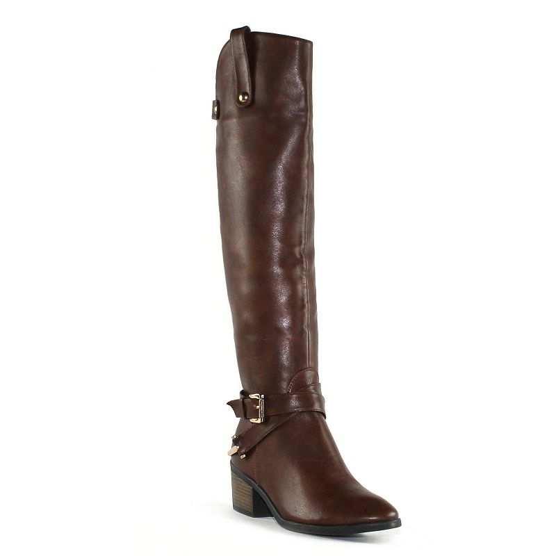 Olivia Miller Cabrini Women's Knee-High Riding Boots
