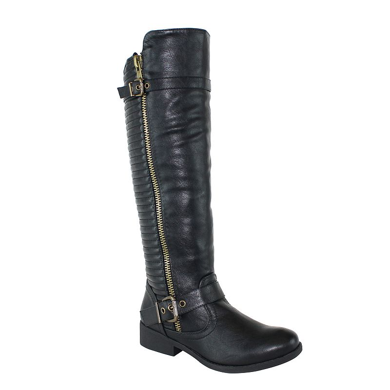 Olivia Miller Houston Women's Knee-High Riding Boots