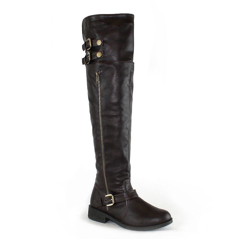 Olivia Miller Lafayette Women's Over-The-Knee Boots