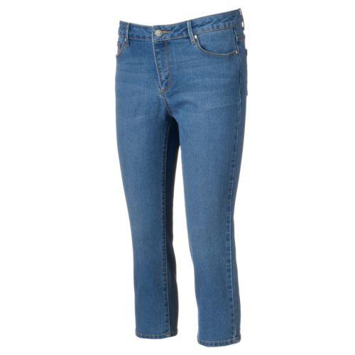 Women's Dana Buchman Straight-Leg Jean Capris