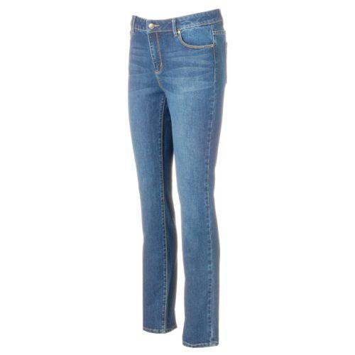 Women's Dana Buchman Straight-Leg Jeans
