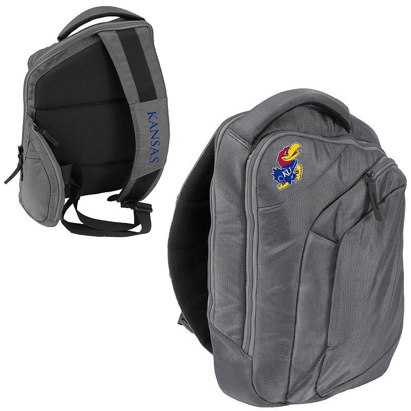 Logo Brand Kansas Jayhawks Game Changer Sling Backpack