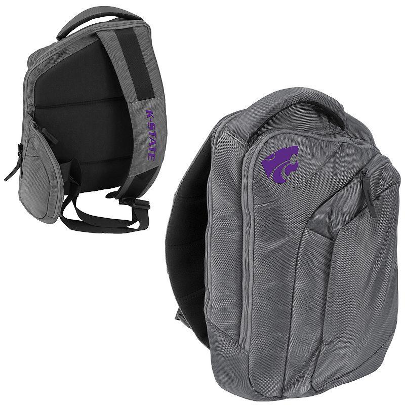 Logo Brand Kansas State Wildcats Game Changer Sling Backpack