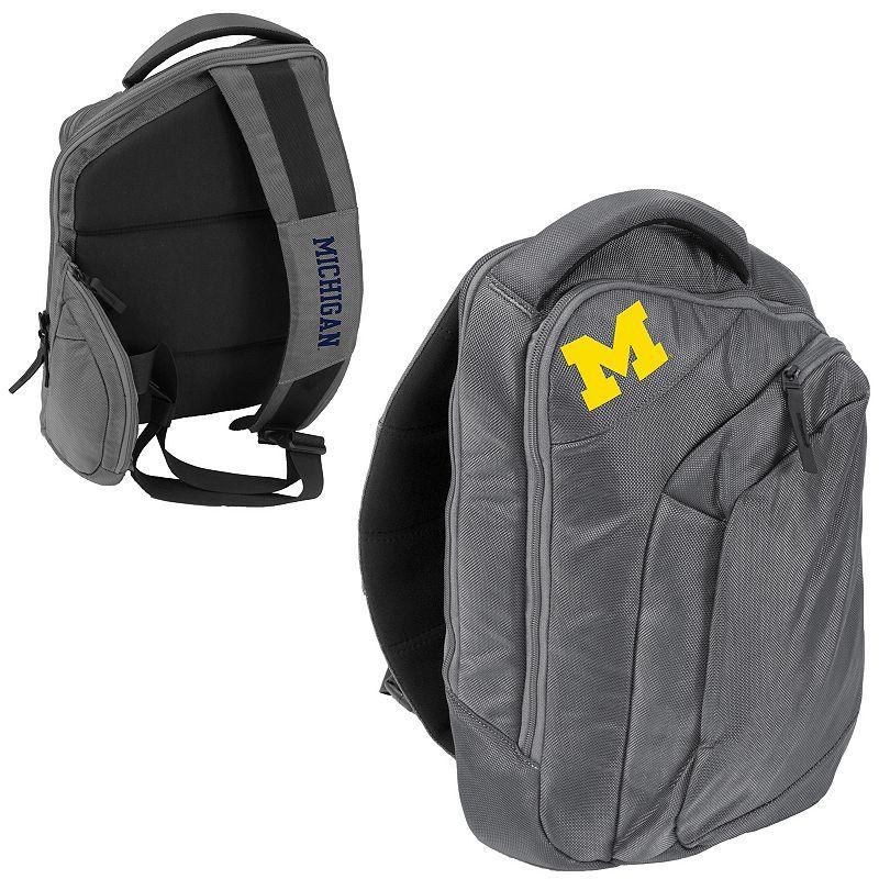 Logo Brand Michigan Wolverines Game Changer Sling Backpack