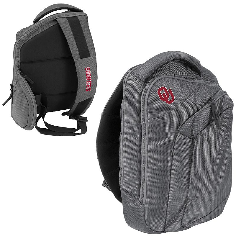 Logo Brand Oklahoma Sooners Game Changer Sling Backpack