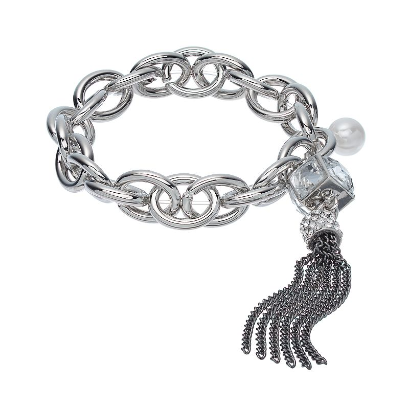 Jennifer Lopez Chain Stretch Bracelet